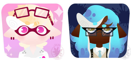 Splatoon Icon Batch 2 [COMMISSION] by SQUISH-DEMON