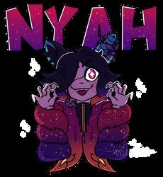 Y'know, like, nyah [2/2 for Halflizard]