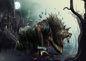 Werewolf by SnoopyMD