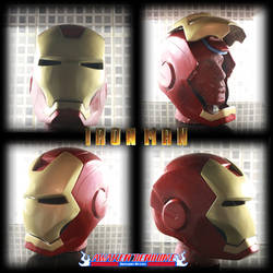 Iron Man Helmet by JonsProjects