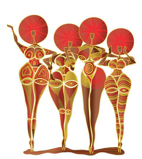 Curvy Women by Aissata on DeviantArt