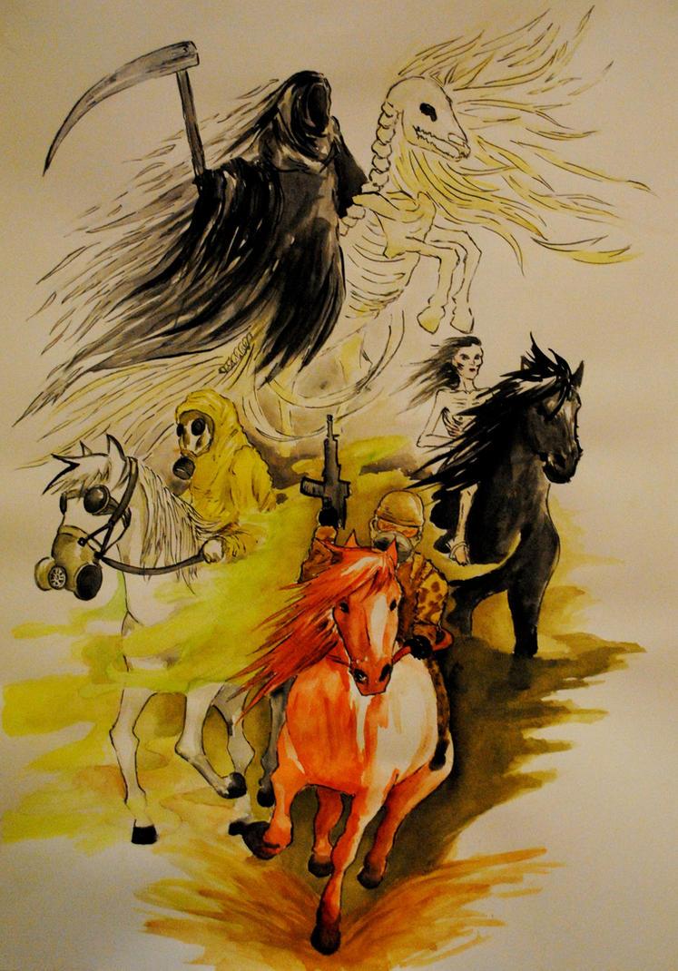 Four Horsemen by SirDomPayne