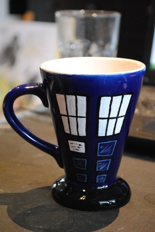 Doctor Who cup by SirDomPayne