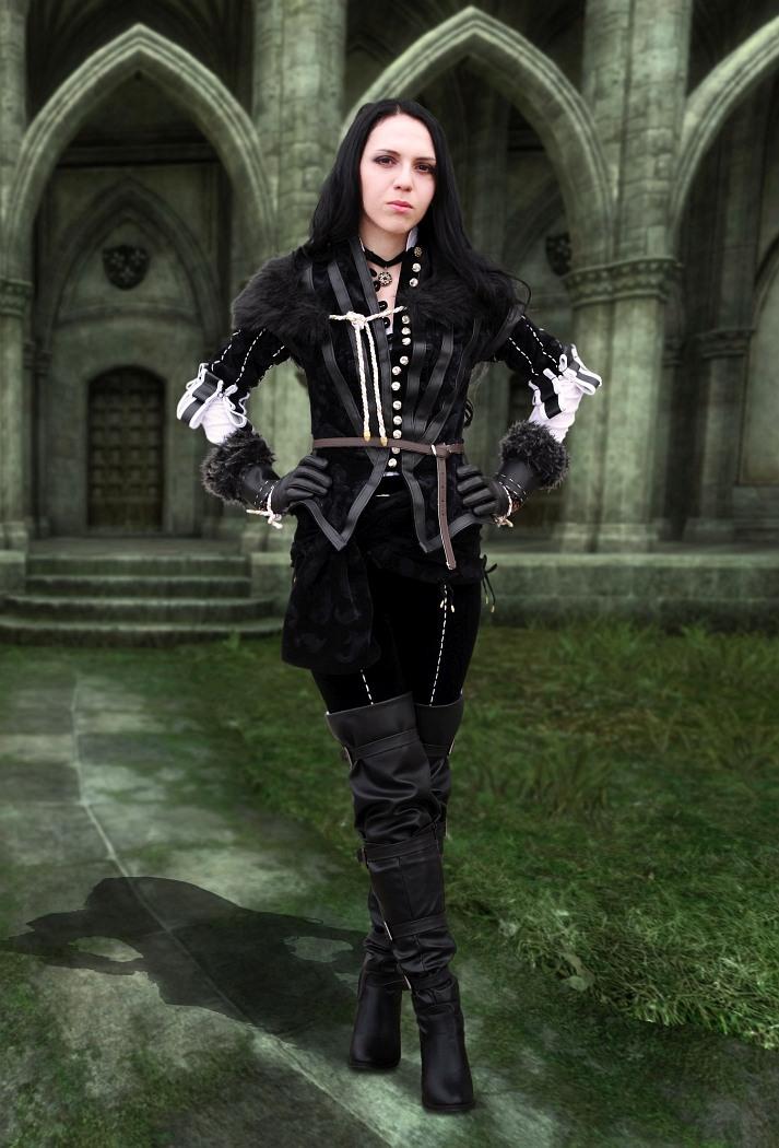 The Witcher: Yennefer by SirDomPayne