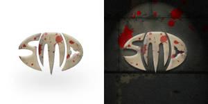 'SMD' logo