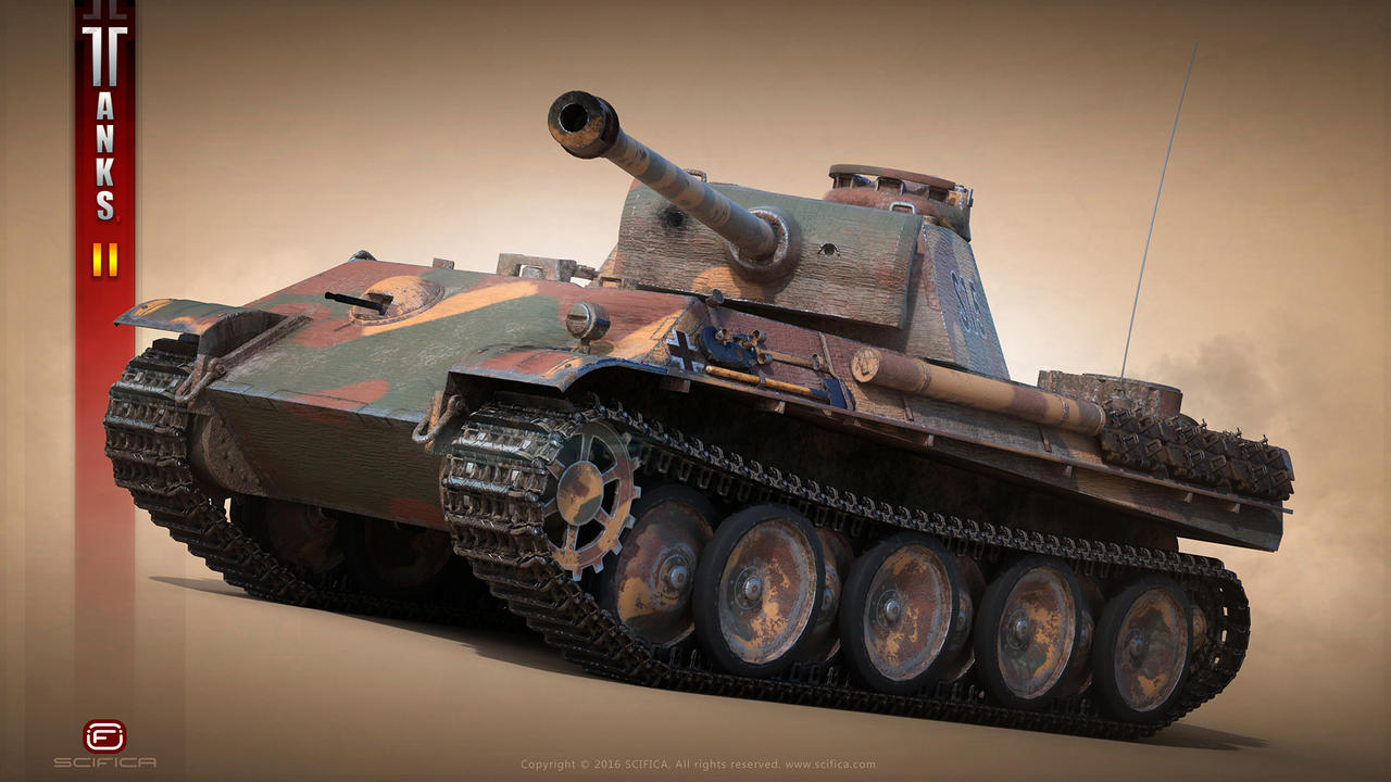 Panther Tank WW2 By Scifica On DeviantArt