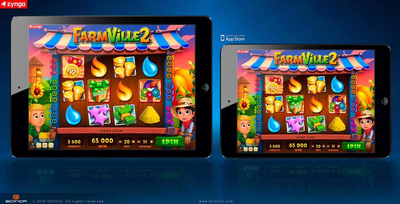 FarmVille 2 Casino Slot Machine Mobile Game Ui By Scifica