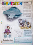RIMFROST  Newspaper page
