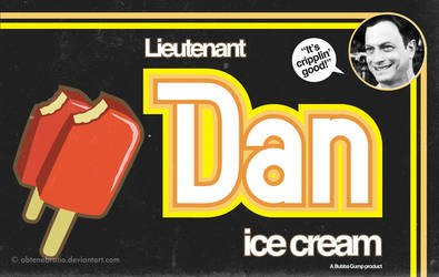 Lieutenant Dan Ice Cream by Obtenebratio