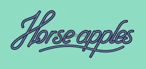 Horse apples by Obtenebratio