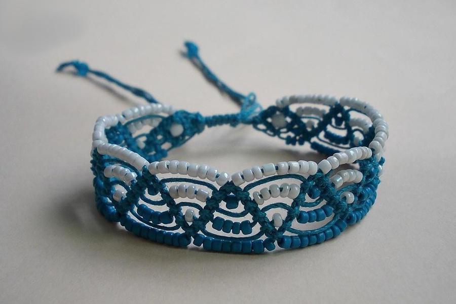 southern water tribe bracelet by mdlymee on deviantart