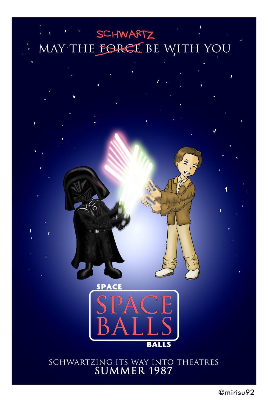Spaceballs - Movie Poster by mirisu92 on DeviantArt