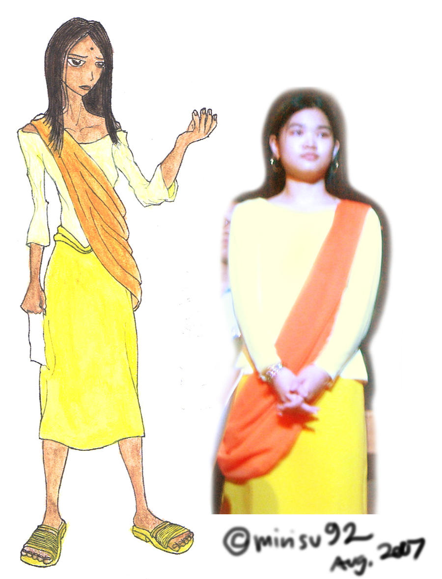 Ramayana - Sita's Costume by mirisu92