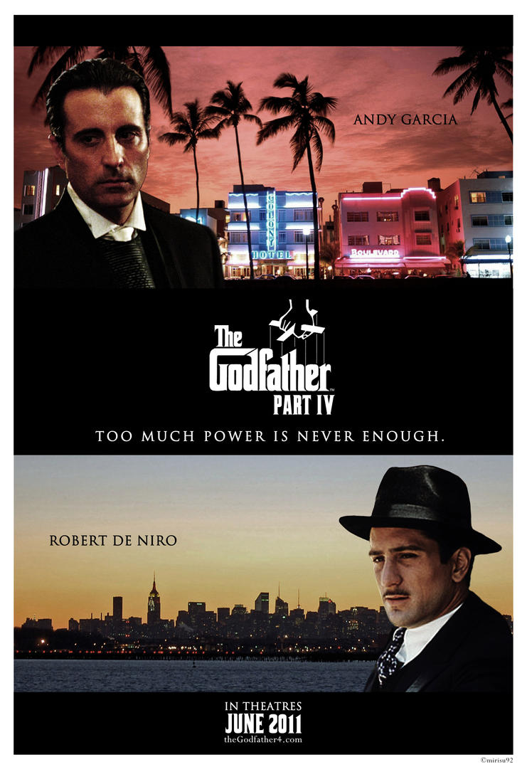 The Godfather Part 4 - Color by mirisu92 on DeviantArt