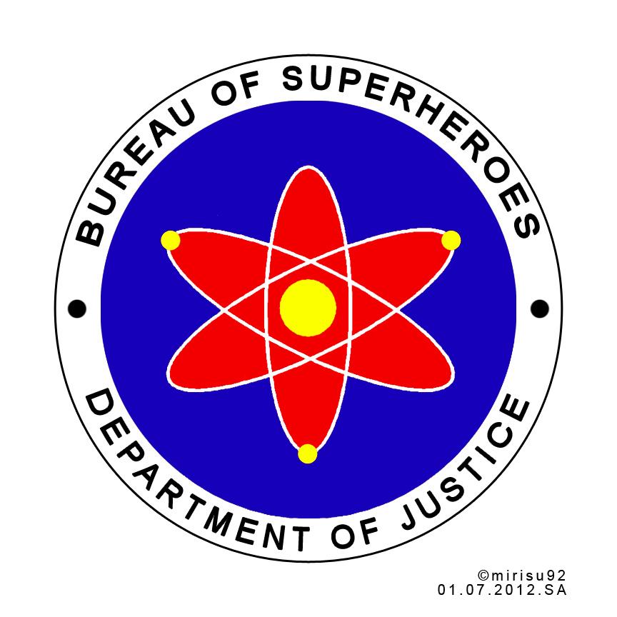 Bureau of Superheroes Official Seal - Draft