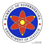 Bureau of Superheroes Official Seal - Edited