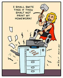 Thor has Printer Problems
