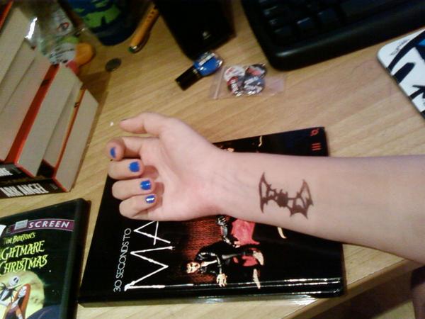 bat tattoos