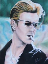 David Bowie by Kentcharm