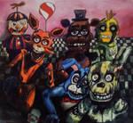 Five Nights at Freddys by Kentcharm