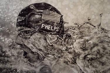Michael Phelps  by Kentcharm