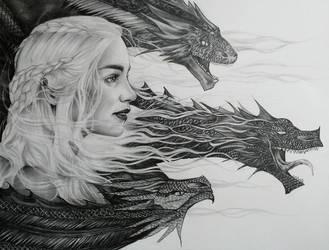Daenerys Stormborn Targaryen by Kentcharm