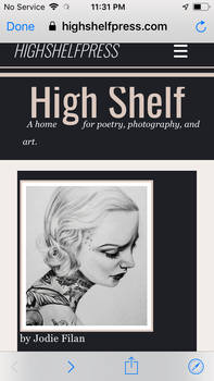 High shelf press Jodie Filan