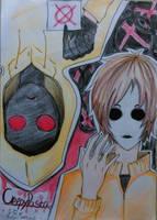 Creepypasta-Masky and Hoodie by JakieBonnibel