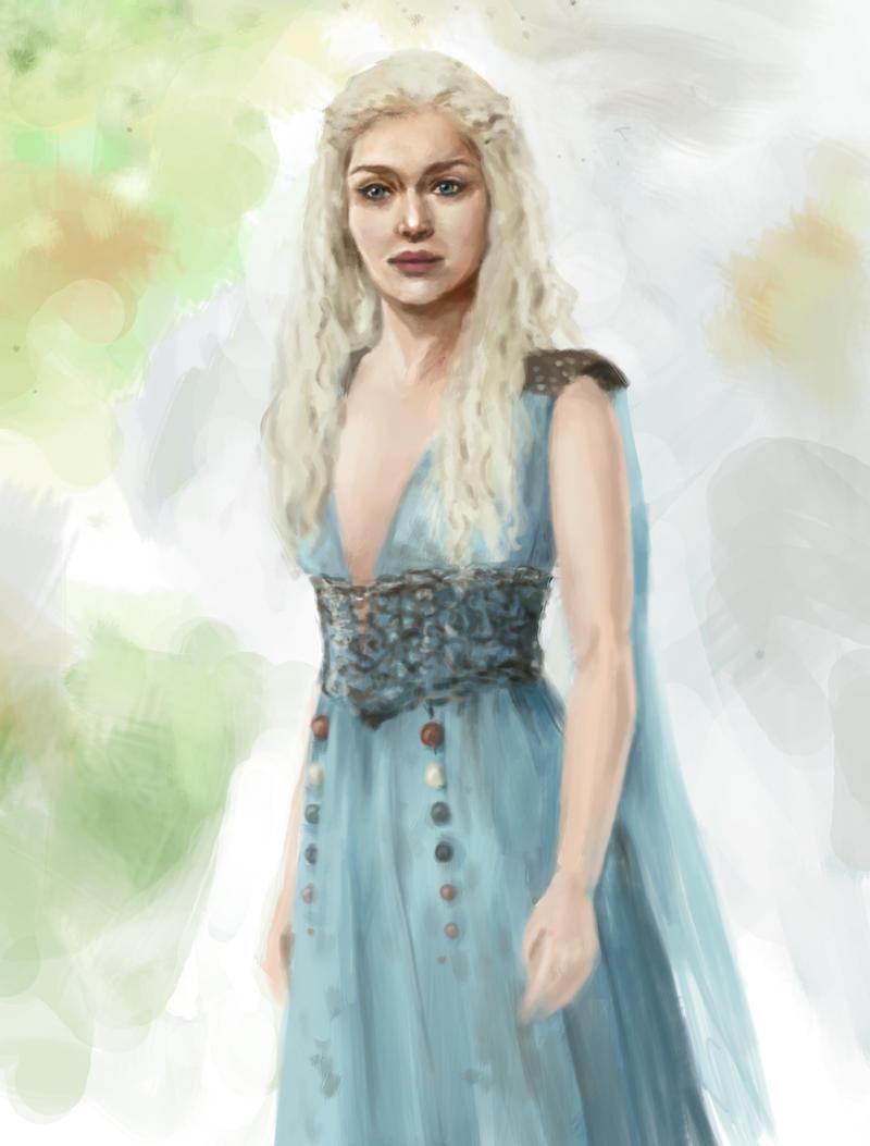 Daenerys Targaryen by ImperfectSoul