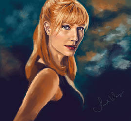 Pepper Potts by ImperfectSoul