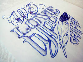 Love typography by anniecarter