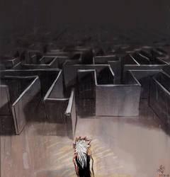 my life - maze by Shiro-Naruto
