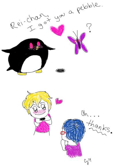 Rei-chan and Nagisa by CearyAuryn