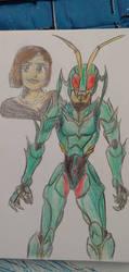 Kamen Rider Monic by AvengerOfIron3401