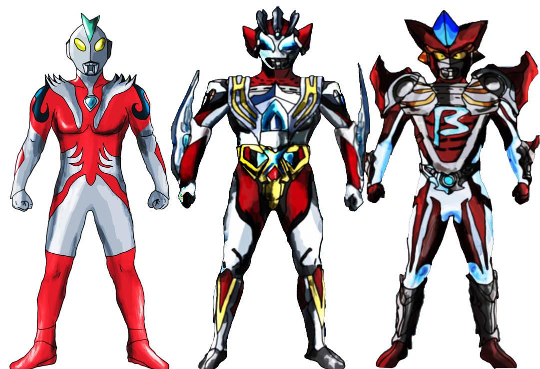 Ultramen Alpha Beta and Legacy