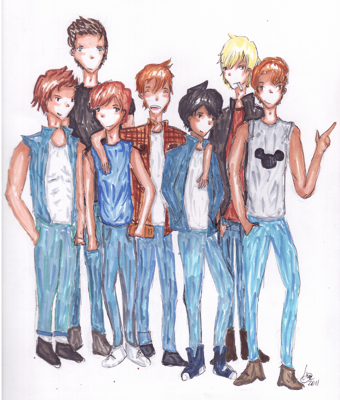 The Outsiders By Meragold On DeviantArt