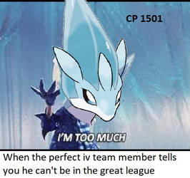 Low quality Pokemon Go league meme