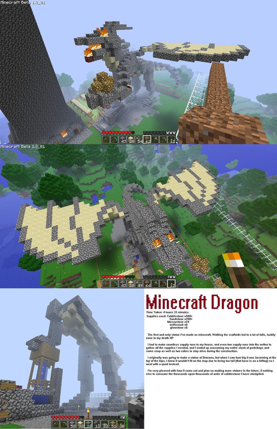 Minecraft Dragon by warp2002 on DeviantArt
