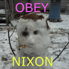 OBEY NIXON by warp2002