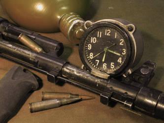 Tank clock