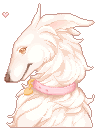 HT: Pixelated Angel (Dog) by Liquid-Bliss-XXX