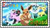 Eevee Squad Stamp by PatchouKitsuru