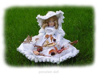 porcelain doll by poppyflower