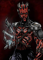 Darth Maul the Old Master by Zupano