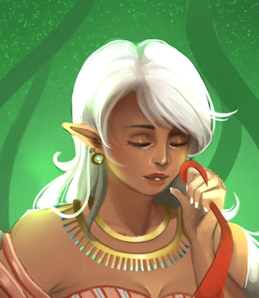 Elf by Lilerilala2