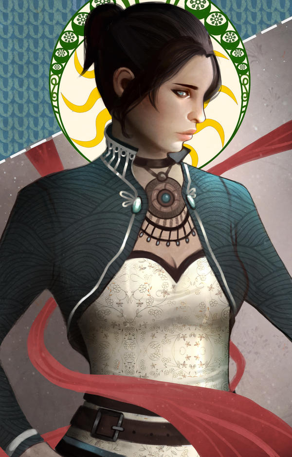 Character card: Trevelyan by Lilerilala2