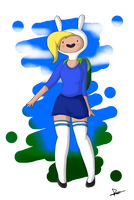 .:Fionna. the Human:. by The-Butcher-X