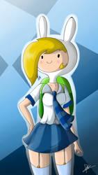 .:Fionna-School Girl:.
