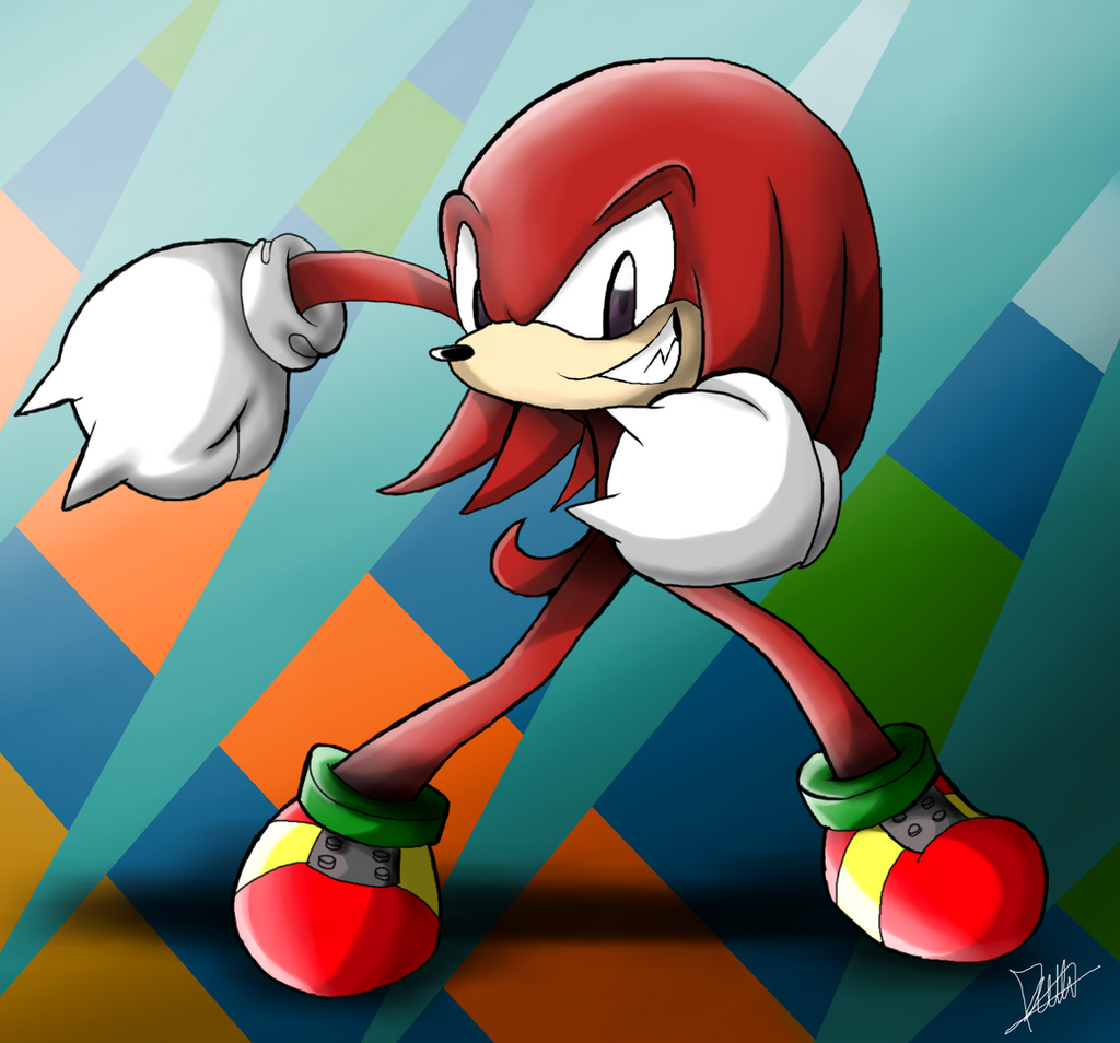 Knuckles -Profile- by The-Butcher-X