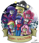 .:Mane 6 Halloween:.